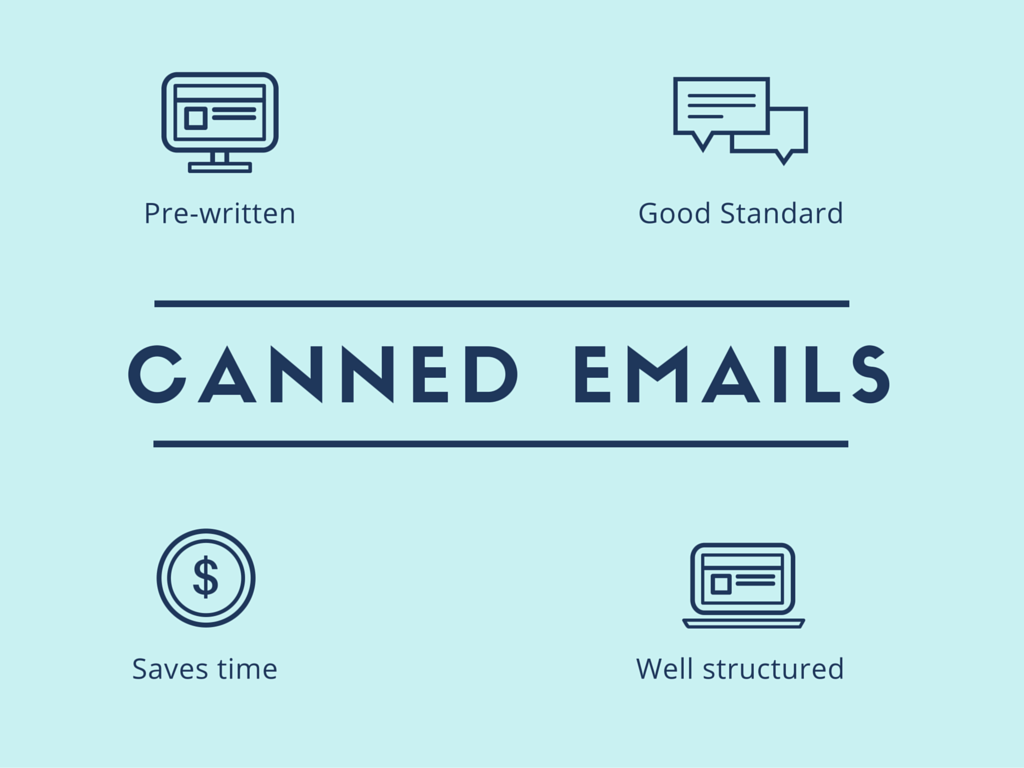 Prewritten Canned Emails